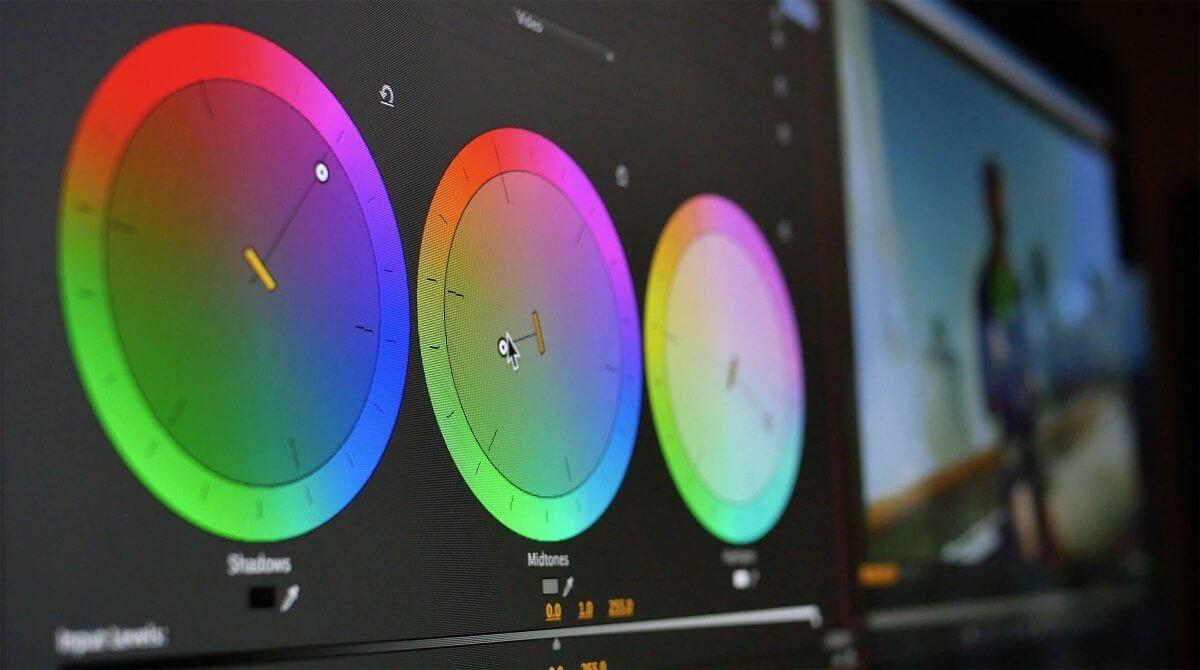 Что такое цветокоррекция видео?