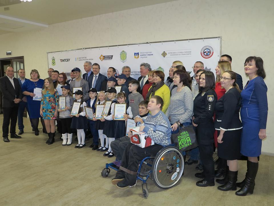SOM. School of Media наградила участников Всеукраинского конкурса «Молодежь за безопасность дорожного движения»